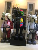 [New] DHL Original fake KAWS 130cm 4ft kaws dissected 1:1 collection action figures toy OriginalFake model Home Decoration gift