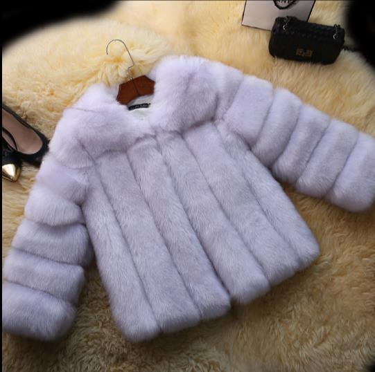 Veste Plus Q930 Vison La Artificielle 2019 Femmes Femme Faux De Manteau Outwear Furry Fourrure Hiver Taille xfPgxU