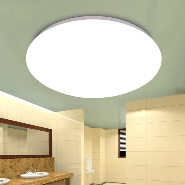 Modern Ceiling Lights White Round LED Ceiling Lamp For kitchen aisle corridor bathroom Toile Light Fixtures Home Lighting -in Ceiling Lights from ...