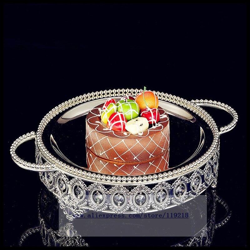 Plat à Dessert de thé plaqué argent | Plat à Dessert rôti West Point plat à gâteau