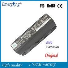 15V 5900 мА/ч, Аккумулятор для ноутбука ASUS A42-G750 G750J G750JH G750JM G750JS G750JW G750JX G750JZ