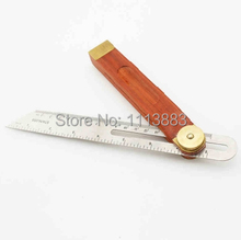 9 (230mm) Sliding T-Bevel Gauge With Rosewood Handle, Stainless Steel Blade and Brass Fittings