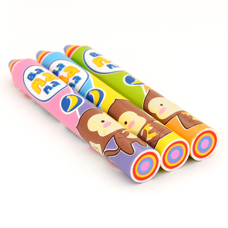Cartoon Cute Rainbow Pencil Eraser Children's Painting Learning Stationery Pupils Creative Prize Gift