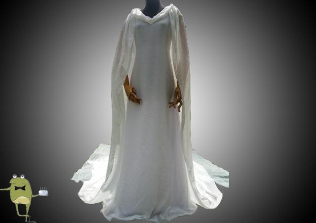 Der Hobbit Elven Königin Galadriel Cosplay Kostüm für Verkauf, Elven ...