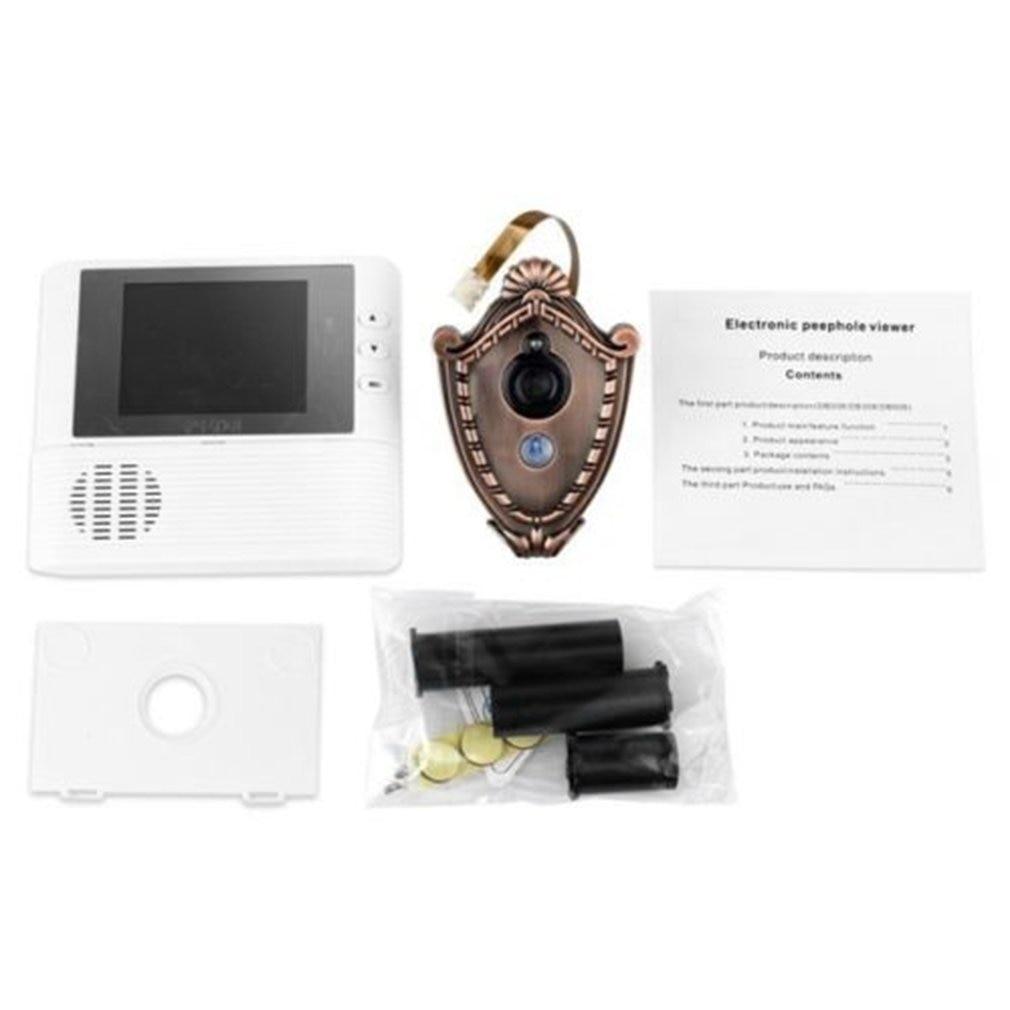2.8 inch Lcd digital Door Camera Doorbell peephole Door viewer eye Home Security Camera Cam door bell 3X Zoom hot2.8 inch Lcd digital Door Camera Doorbell peephole Door viewer eye Home Security Camera Cam door bell 3X Zoom hot