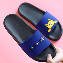 2018 New Lovely Cartoon Cat Fish Lovers Slippers Thick Bottom Comfort Summer Beach Shoes Hot Fashion Women Big Size Home Slipper
