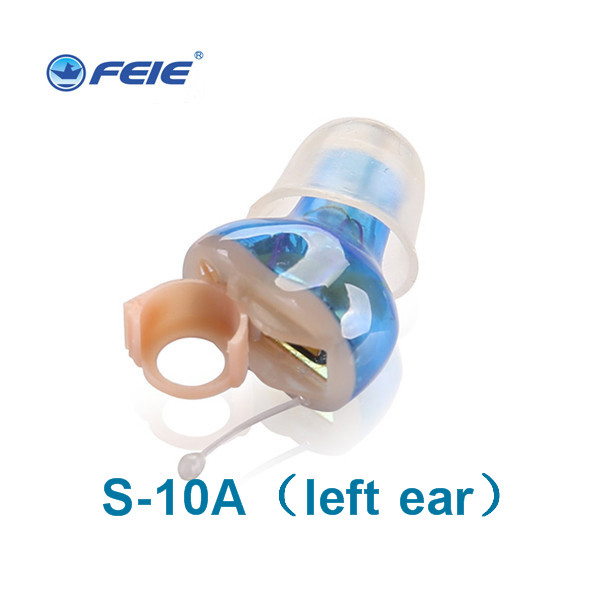 tinnitus masker hearing aid Voice Enhancer Device and Personal Audio Amplifier ready to wear with Two Types of Sound Tubes S-10A
