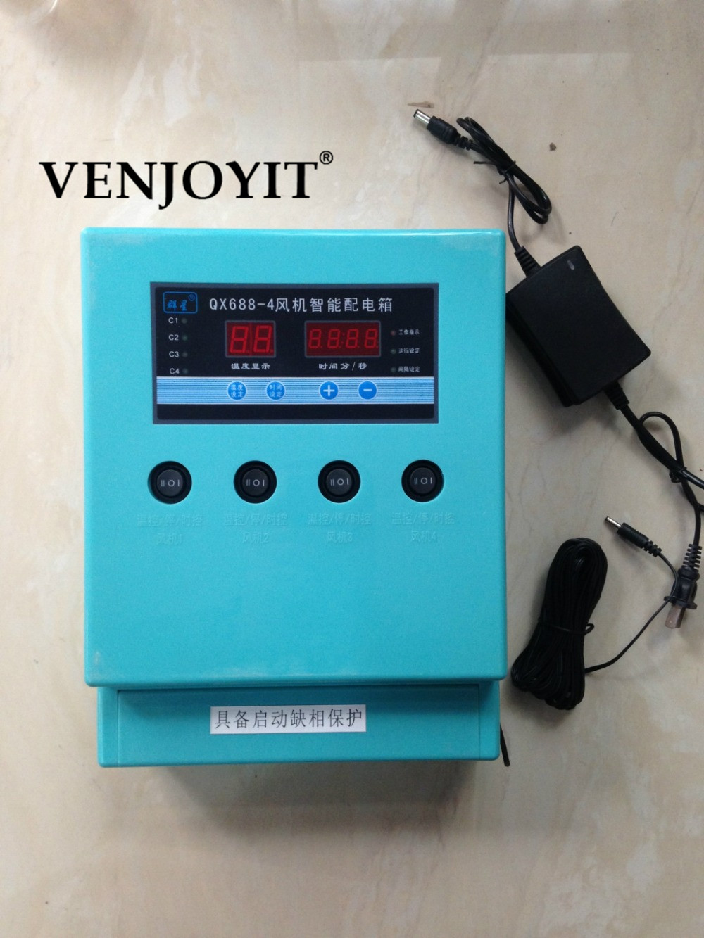 Свинья куриной температуры вентилятор время цветок селекции вентиляции оборудования занавес воды контроля блок управления