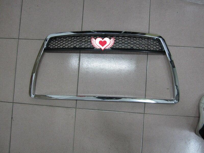 Calandre chromée autour de la garniture pour Mitsubishi LANCER 2008-2011 style de voiture