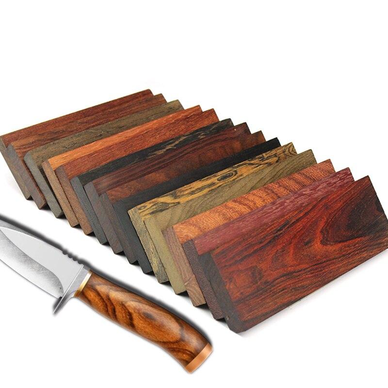 1 pçs faca lidar com material artesanal diy sândalo 18 tipos de madeira disponível wenge rosewood 12*4*1cm madeira