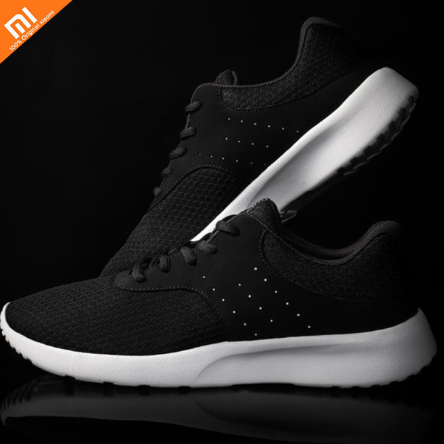 Xiaomi Mijia Sports Black Shoes lightweight breat Breathable Refreshing Mesh Comfortable And Stable For Man