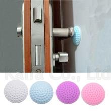 Самоклеющиеся резиновые двери буфера стены протекторы дверные ручки бамперы для двери стопор дверной стоп