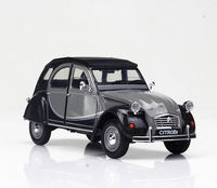 Welly 1:24 Citroen 2CV 6 Charleston Diecast Model Sports Racing Car Vehicle NEW IN BOX