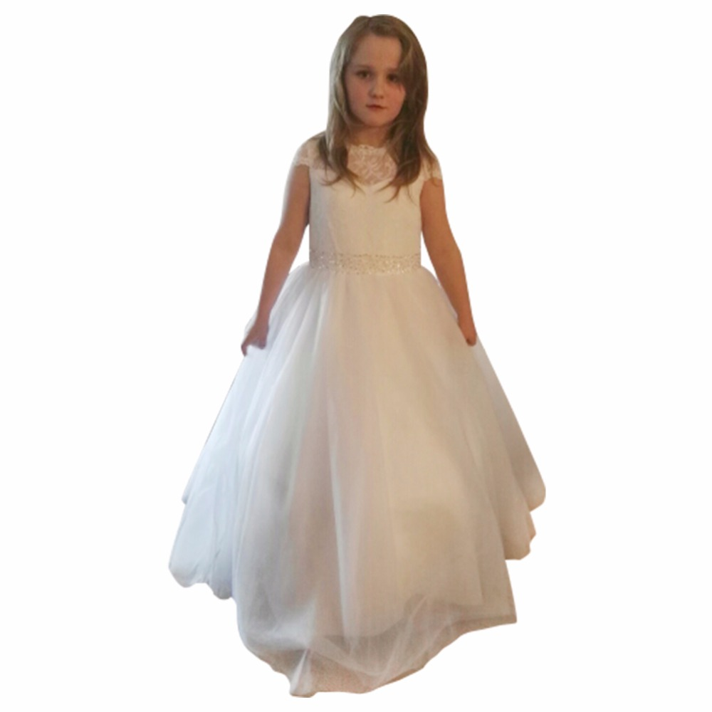 Wedding Gown For Sale: Hot Sale Lace Flower Girl Dresses For Wedding Ball Gown