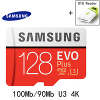 SAMSUNG AC Memory Card 256GB 128GB 64GB 32GB 16GB 100Mb S Micro SD Card Class 10
