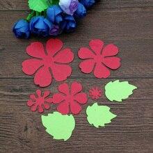 Flower Leaf Metal Cutting Dies for Scrapbooking