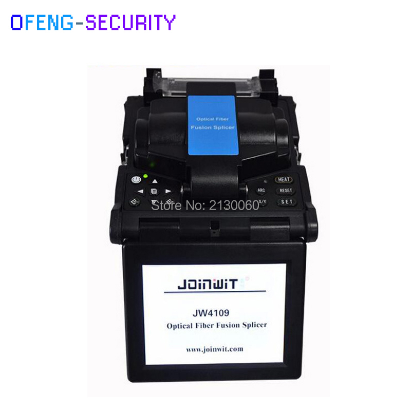 JW4109 5 Inch Fast Splicing 9S Automatic Optical Fiber Fusion Splicer JW4109 Fusionadora De Fibra Optica