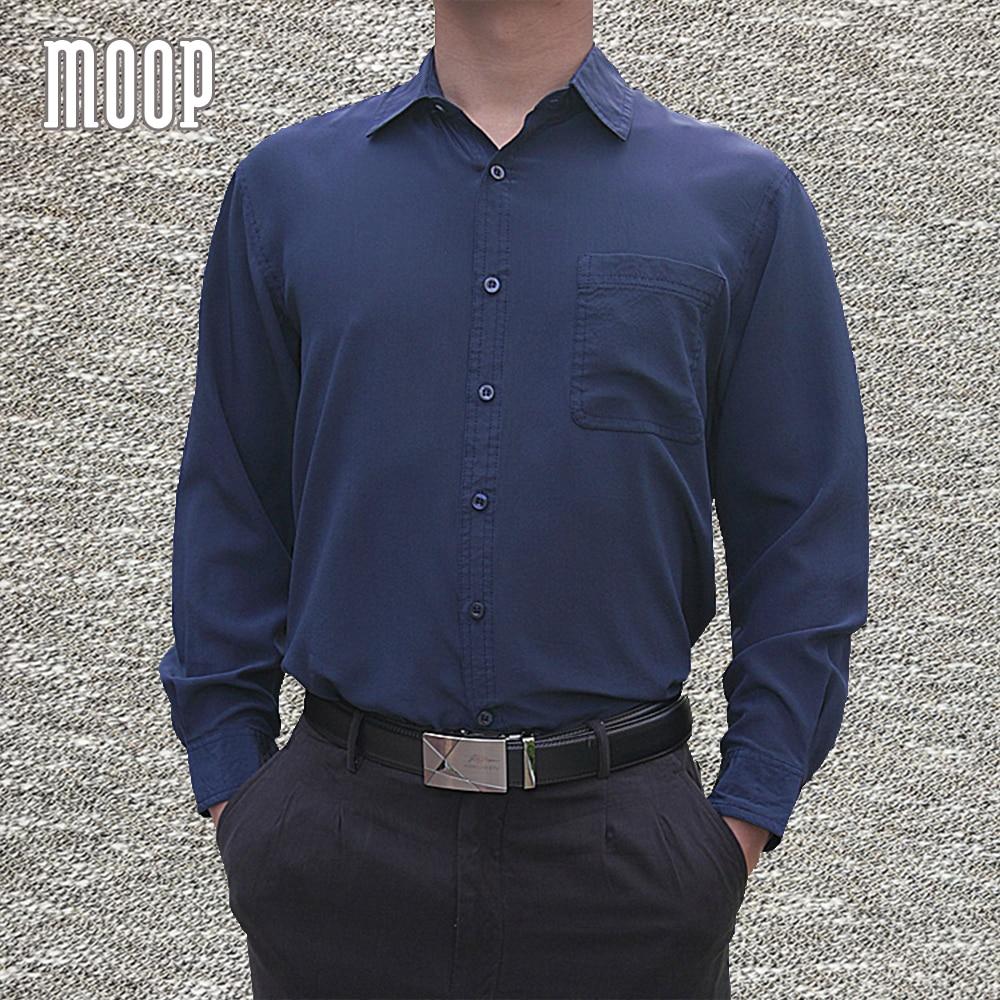 4 الألوان الصلبة الرجال الطبيعي الحرير قمصان طويلة الأكمام قميص رسمي للأعمال رخيصة قميص homm camiseta الغمد vetement أوم LT1508-في قمصان كاجوال من ملابس الرجال على  مجموعة 1