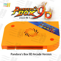 2019 Pandora Box 9D 2222 in 1 arcade version jamma game board HDMI VGA for coin operated games machine mortal kombat pac man