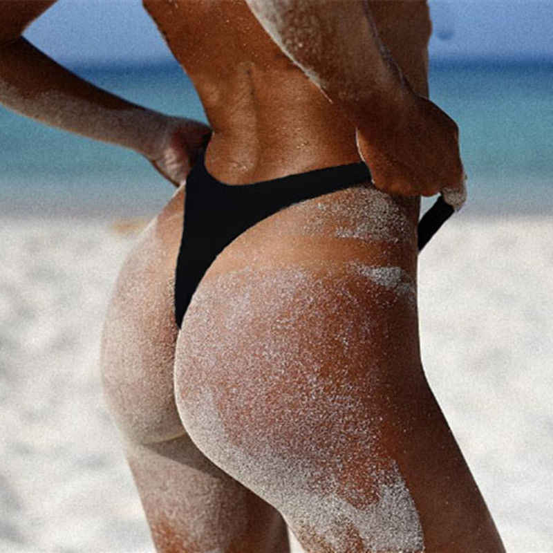 2019 одежда для плавания женские трусы бикини Низ бразильские стринги Купальный костюм классический вырез НИЗ БИКИНИ короткий женский купальный костюм