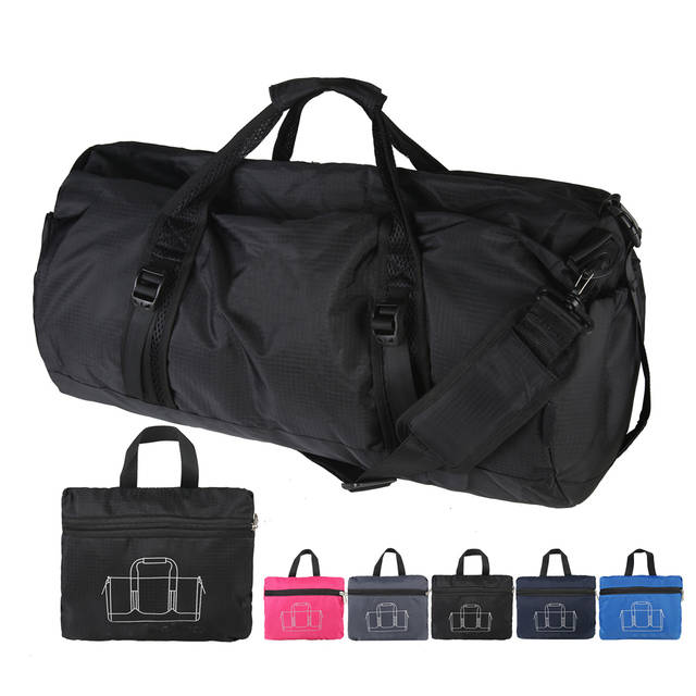 8d64083bbde4 TEMENA Foldable Sports Gym Bag Women Men Fitness Bags Durable Multifunction  Handbag Outdoor Sporting Tote For