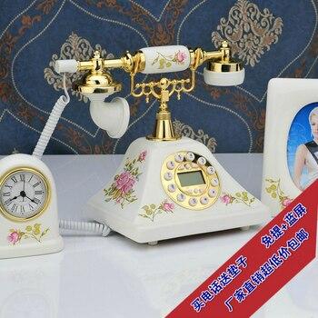 Genuine antique telephone style antique telephone European call home phone European call