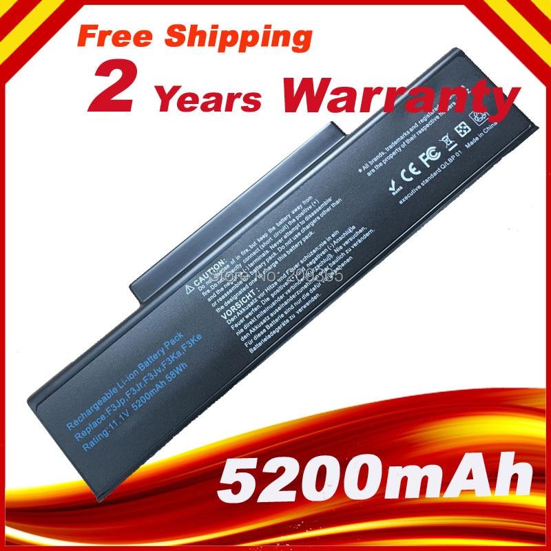 Laptop Battery A32-F2 A32-F3 A32-Z94 A32-Z96 For Asus Z53 M51 Z94 A9T F3 F3S F3K F3T F3SV F3JR F3JA F3E F3KE