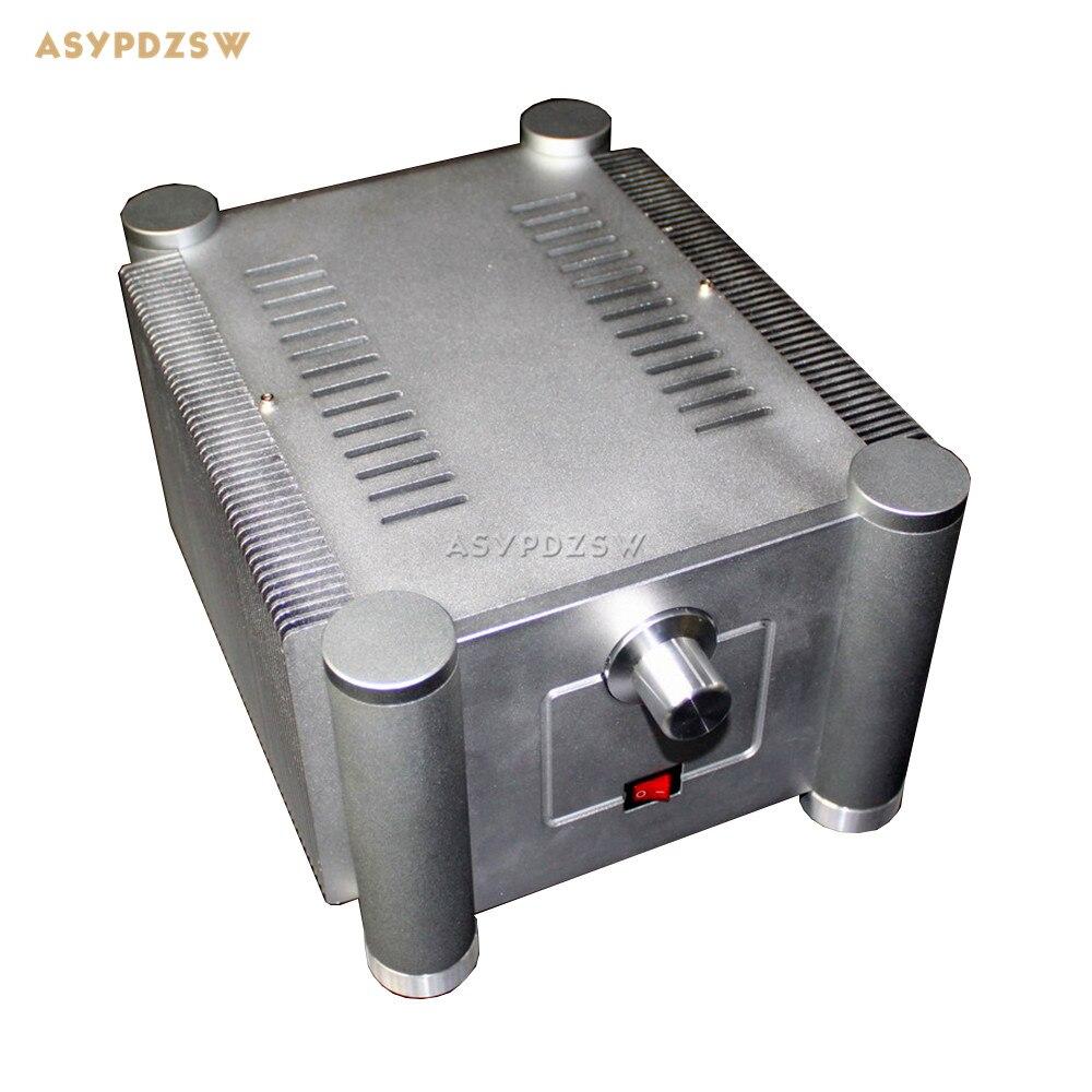 WA25 plein aluminium double couche radiateur enceinte classe A préamplificateur châssis 265*225*135mm