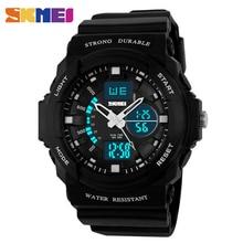 SKMEI Digitale Junge Uhren Sport Wasserdicht Männer Armbanduhren Uhr Dual Time Chrono Herren Uhren Mode Stunde montre homme 0955
