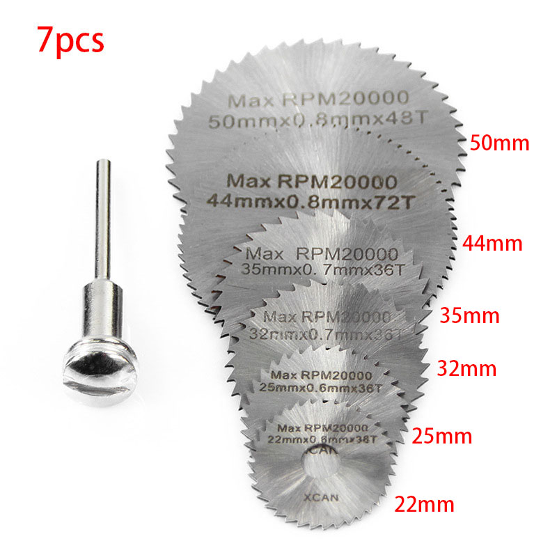Disc Drill Blade And Mandrel