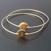 Monogram N / Z Bangle Silver plating Bracelet Gold plating Fashion Beautiful Jewelry for Woman Hot Selling YPQ0075(China)