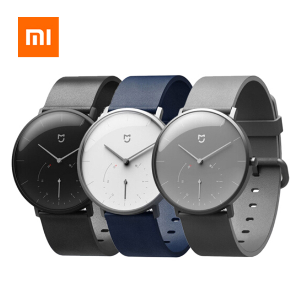 HOT Original Xiaomi Quartz Watches Waterproof BLE4 0 Wireless Double Dial with Alarm Sport Sensor Connect