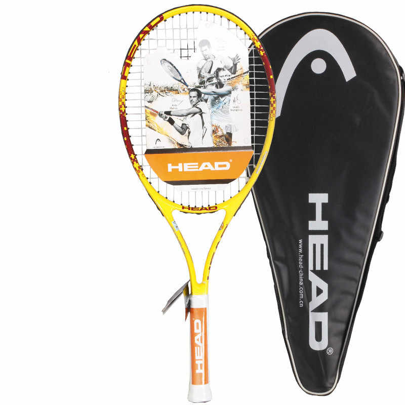 Original Head TI series tennis high quality tennis racket for men women training rackets Raquete De Tenis with cover
