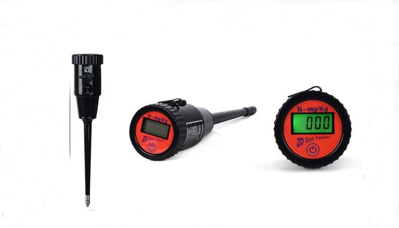 Hohe Präzision Hintergrundbeleuchtung Boden sensor für Stickstoff tester sensor Hohe Qualität Boden nährstoff analysator - 2