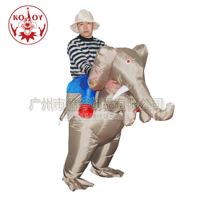 Fancy Dress Costume Ride an Elephant Safari Inflatable Adult Costume Standard  sc 1 st  AliExpress.com & Fancy Dress Costume Ride an Elephant Safari Inflatable Adult Costume ...