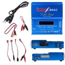 80 Вт Цифровой iMax B6AC Lipro батарея баланс зарядное устройство для RC модель Nimh батарея балансировка зарядное устройство