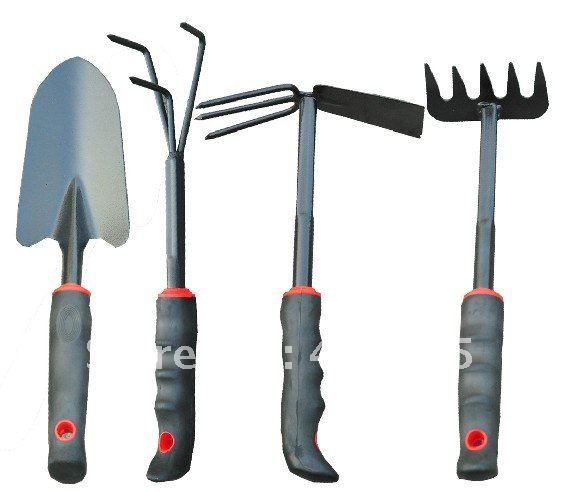 Garden Tools Small Garden Sets, Shovel, Forks, Hoe, Rake, Harrow