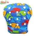 Bebé Swim Pañal Pantalón Lavable Reutilizable Un Tamaño Reutilizable Cubierta Transpirable Pantalones Pañales Infantiles Del Niño 0-3 Años 10 colores