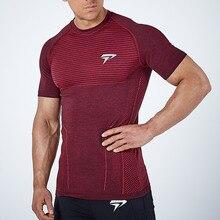 New Men Running Tight Short T-shirt compression Quick dry