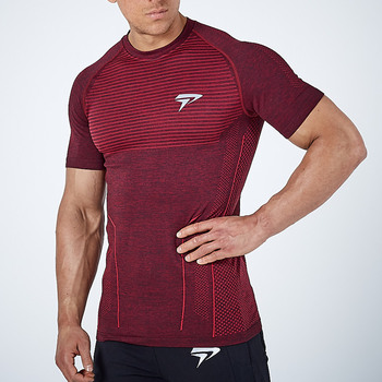 2020 nowych mężczyzna działa mocno krótki t-shirt kompresji szybkie pranie t shirt mężczyzna siłownia kulturystyka jogging Tees topy odzież tanie i dobre opinie GLOBESKY AUTUMN Lato Wiosna Poliester Pasuje prawda na wymiar weź swój normalny rozmiar