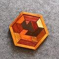 Экспортного качества tangram головоломки взрослых головоломка высокого рекомендуется