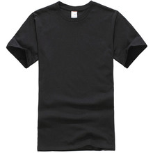 2018 T Shirt Men New Solid color T Shirt Mens Black And White 100% cotton T-shirts Summer Skateboard Tee Boy Hip hop Tshirt Tops
