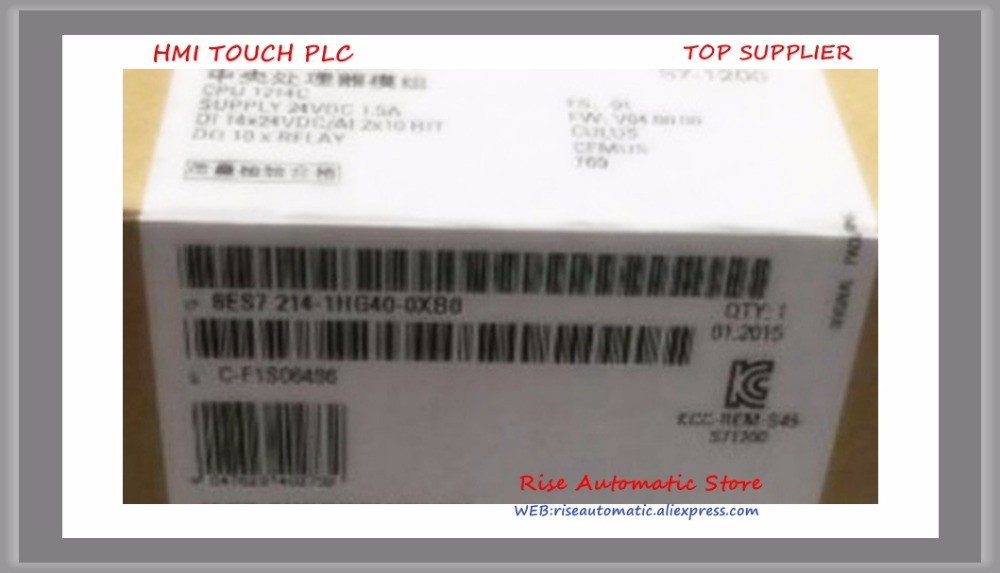 все цены на  6ES72141HG400XB0 S7-1200 CPU CPU 1214C 6ES7214-1HG40-0XB0 COMPACT CPU DC/DC/RELAY New Original 6ES7 214-1HG40-0XB0  онлайн
