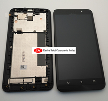 ต้นฉบับสำหรับAsus Zenfone 2 ZE551MLจอแสดงผลLCD Touch Screen Digitizer AssemblyสำหรับAsus Zenfone 2 ZE551MLจอแสดงผลกรอบ