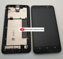Ban Đầu Dành Cho Asus Zenfone 2 ZE551ML Màn Hình Hiển Thị LCD Bộ Số Hóa Cảm Ứng Dành Cho Asus Zenfone 2 ZE551ML Màn Hình Hiển Thị Có Khung