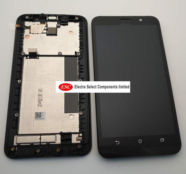 original For Asus Zenfone 2 ZE551ML LCD Display Touch Screen Digitizer Assembly For Asus Zenfone 2 ZE551ML Display With Frame