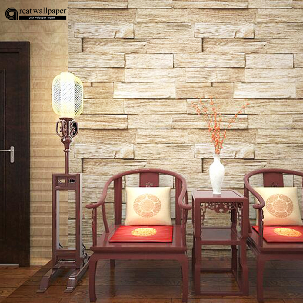 Antique nostalgia imitation plank wood flooring Chinese restaurant bar  wallpaper background wall papers home decor( - Online Get Cheap Imitation Wood Flooring -Aliexpress.com Alibaba