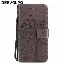 Card Slot Mobile Phone Bags Leather For Nokia 9 Pure View Lumia N950 N650 N640 N635 N630 N550 N435 3310 2017 Tree Embossing P06Z