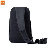 Telefones Xiaomi originais Tipo Ombro Unisex Mochila para câmera DVD pacote peito saco de Viagem Mochila lazer urbano Para Mulheres Dos Homens