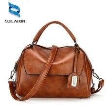 Фотография New Arrivals Women Designer Leather Handbags Vintage Large Shoulder Bag Female Tote Bags High Quality Bolas